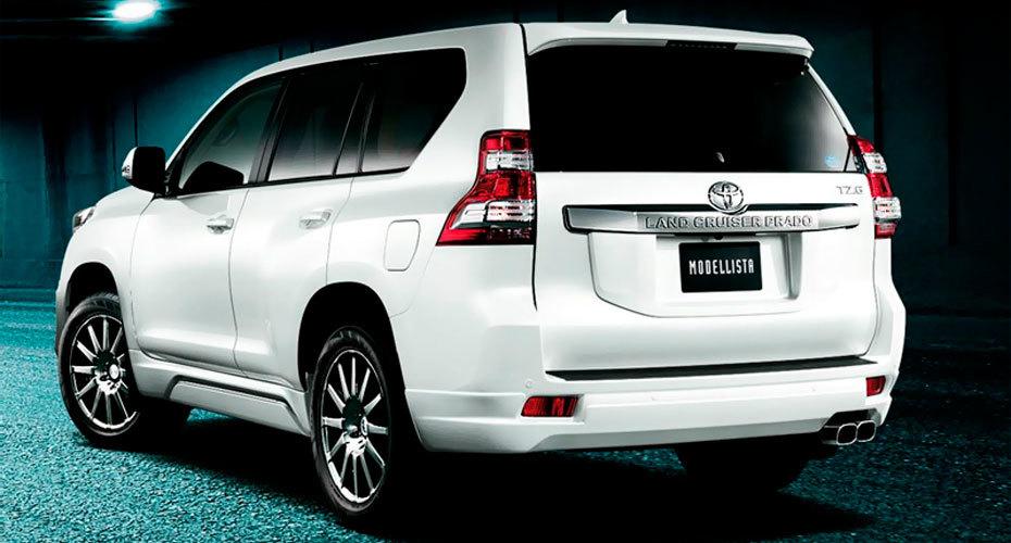 Обвес Modellista для Toyota Land Cruiser Prado 150 Копия