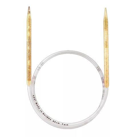 Спицы Addi  пластиковые круговые с гибкой леской 80 см, 7 мм