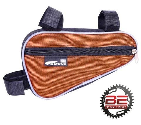 Велосумка в раму COURSE BC011 оранжевая