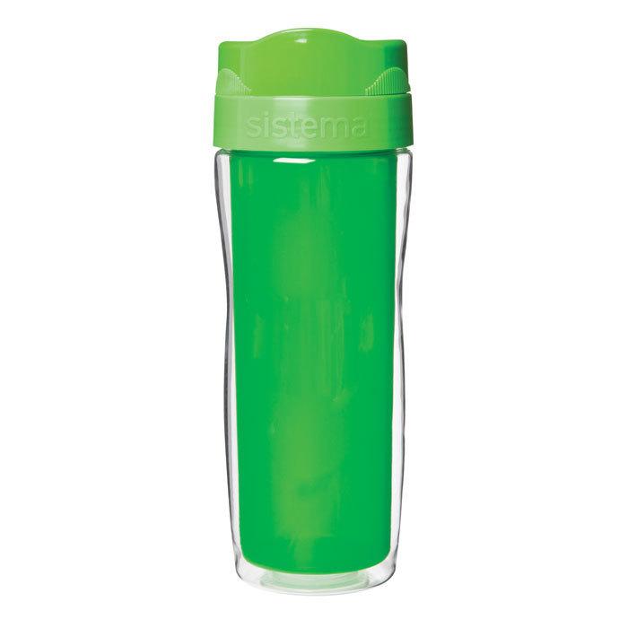 Термокружка Sistema 490 мл, цвет Зеленый