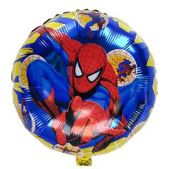 Фольгированный Круг Spider Man