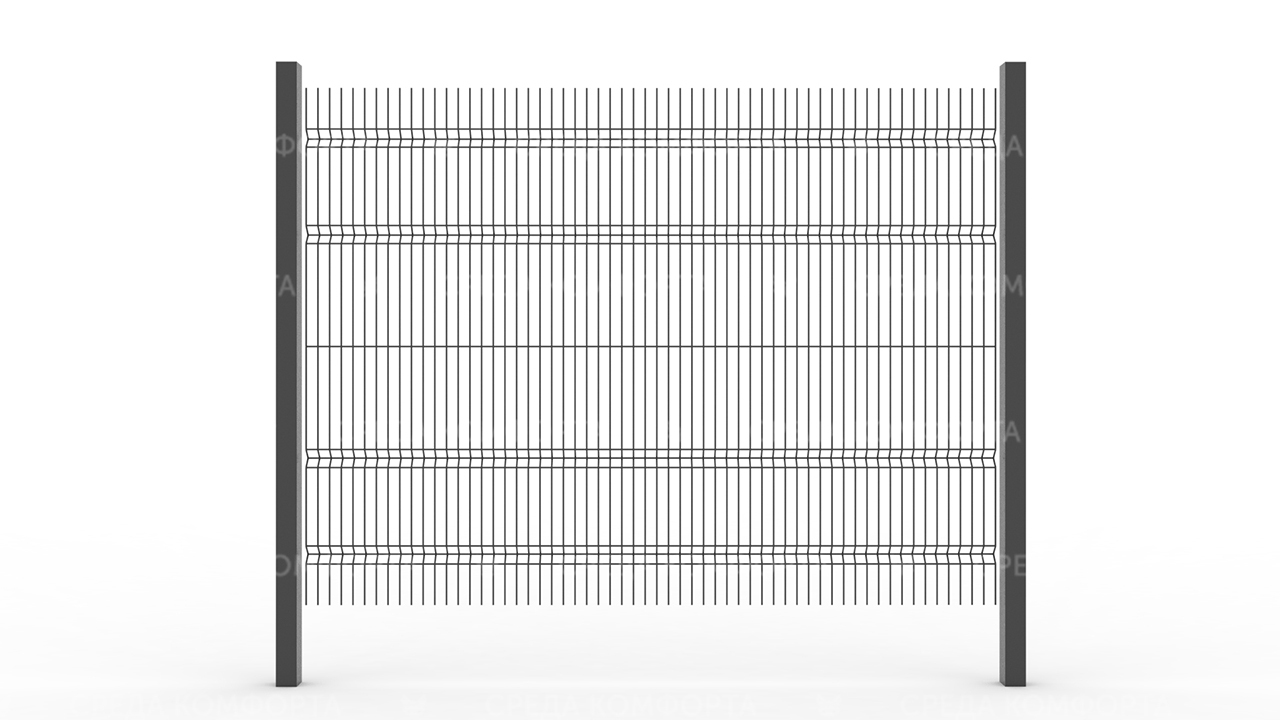 Забор 3Д ZBR0066