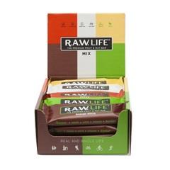 Батончики натуральные R.A.W. LIFE MIX Classic коробка 20 шт.