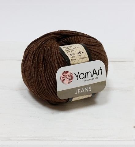 Пряжа YarnArt JEANS - (70 - Шоколад)