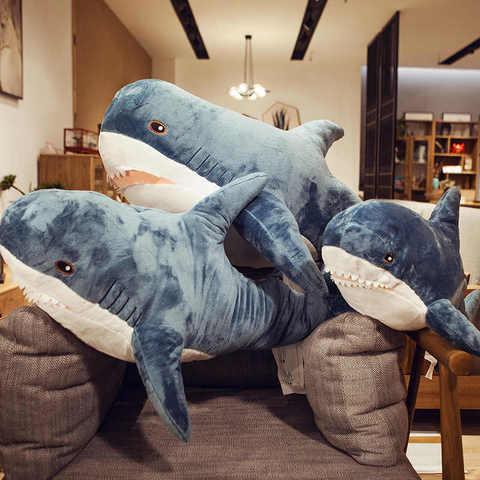 Подушка Акула 60 см