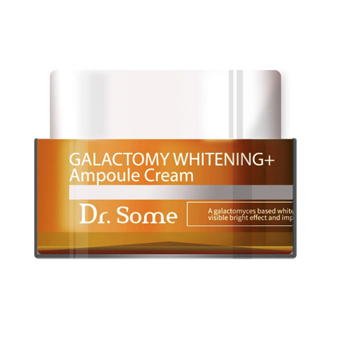 Med:B Dr.Some Galactomy Whitening+ Ampoule C Выравнивающий тон крем для лица с галактомисисом, 50 мл