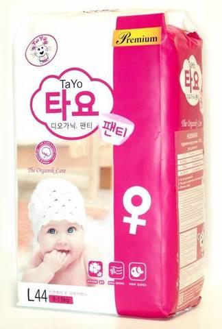 Трусики TaYo для девочек,  9-13 кг (L)