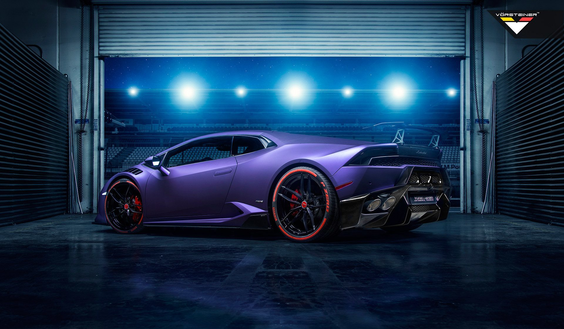 Карбоновые боковые лезвия Novara Style для Lamborghini Huracan