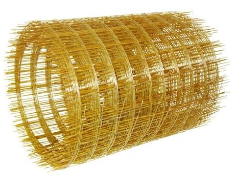 Сетка композитная стеклопластиковая (яч.50х50 d2,5мм) 380х10000мм