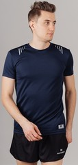 Элитная беговая футболка Nordski Run Dress blue
