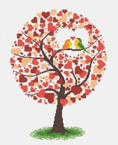 oven-638 Дерево любви