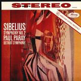 Detroit Symphony, Paul Paray / Sibelius: Symphony No. 2 (LP)