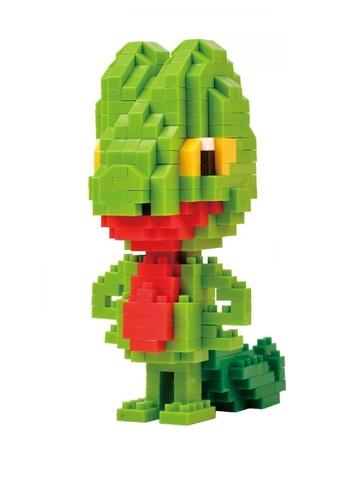Конструктор Wisehawk & LNO Покемон Трико 385 деталей NO. 224 Treecko Pokemon Gift Series