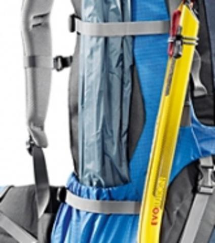 Картинка рюкзак туристический Deuter Aircontact 60+10 Sl Aubergine-Cranberry - 5