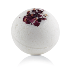 Бурлящий шарик для ванны Роза, 185гр, ТМ Mi&Ko