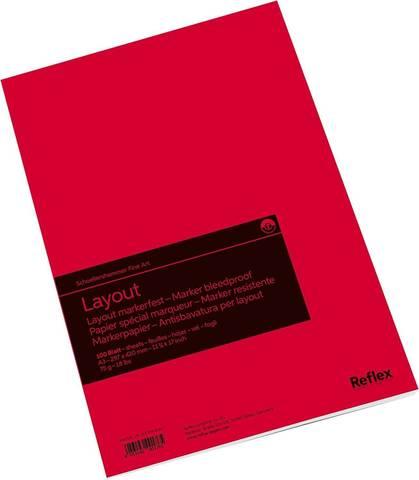 Альбом для маркера Layout 75г/м2 29.7*42см 100л склейка по короткой стороне
