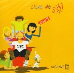 Clave De Sol 1 Clase CD x1 NEd