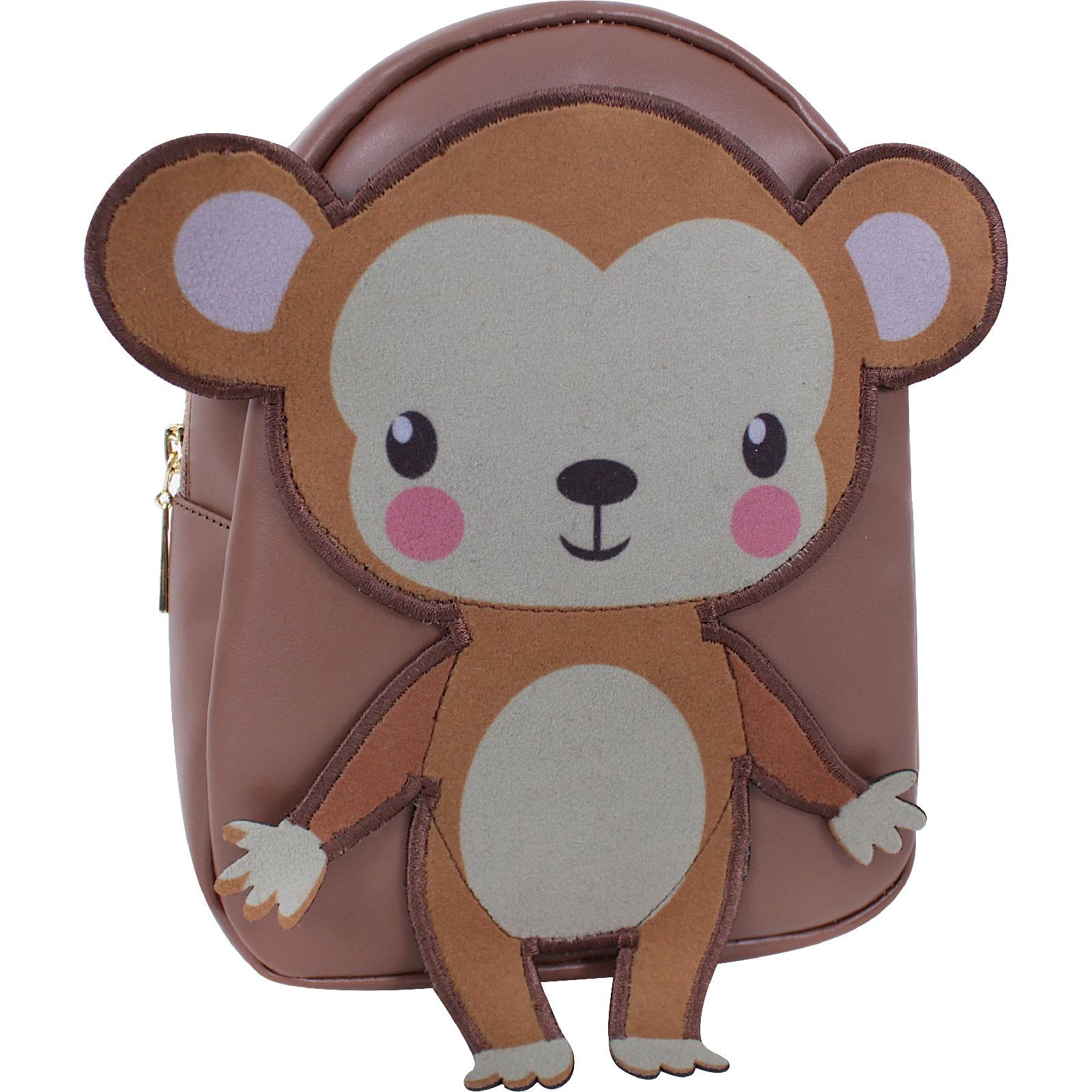 Женские рюкзаки Рюкзак Bagland Animals 4 л. коричневый 918 (0052391) IMG_9535.JPG