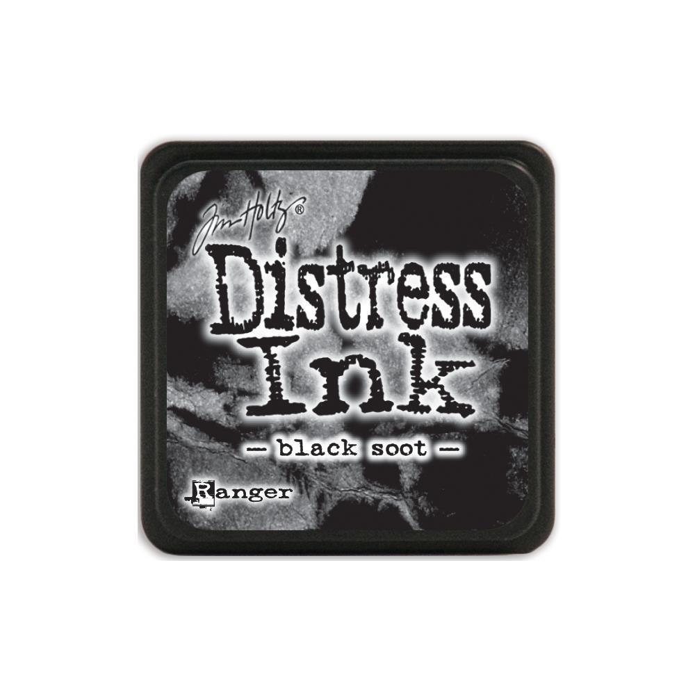 Подушечка Distress Ink Ranger - Black Soot
