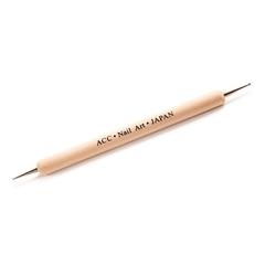 Дотс двухсторонний с деревянной ручкой