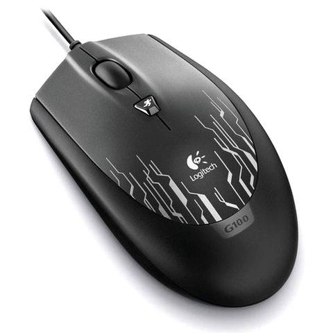 LOGITECH G100 Gaming Mouse White