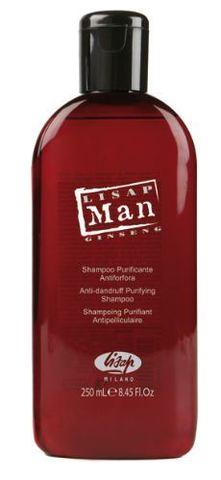 Шампунь для волос против перхоти для мужчин «Lisap Man Anti-Dandruff Purifying Shampoo» (250 мл)