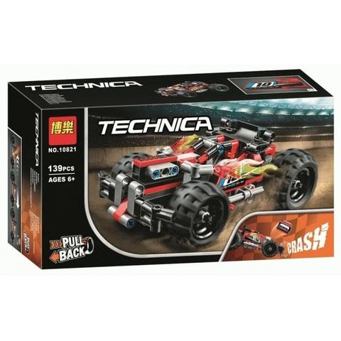 Техник 10821 Красный гоночный автомобиль 139 д Конструктор