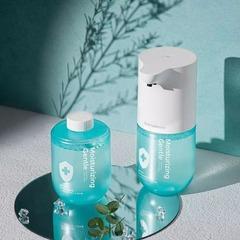 Дозатор сенсорный для жидкого мыла Xiaomi Simpleway Automatic Induction Washing machine Blue (белый/голубой)