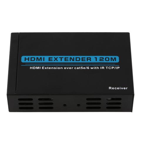 Hdmi extender 120m удлинитель по витой паре cat-5e/6e - 3d
