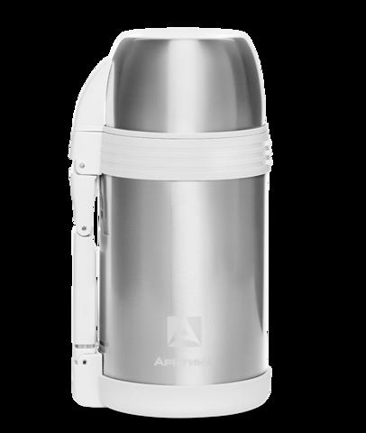 Термос универсальный для еды и напитков Арктика (205-1200) 1,2 литра с широким горлом, стальной