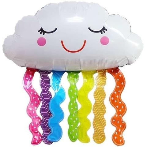 Воздушный шар фигура с гелием Счастливое облако, 81 см