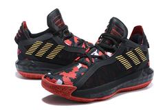 adidas Dame 6 'Black/Red'
