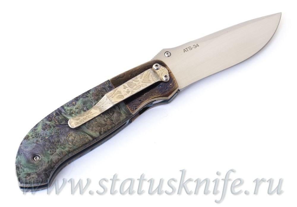 Нож Mike Irie Model 1 Wood - фотография