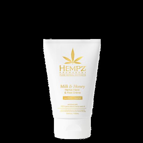 Крем для рук и ног Молоко и Мёд / Hempz Milk & Honey Herbal Hand & Foot Crème