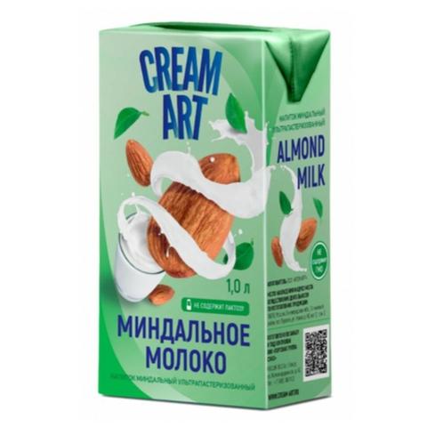Молоко CREAM ART Миндальное 1 л т/п РОССИЯ