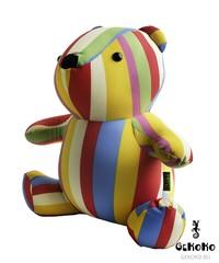 Подушка-игрушка антистресс Gekoko «Мишка Мультифрукт» 4