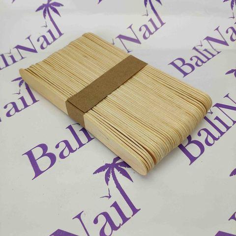 Шпатели деревянные 15 см, 100 шт