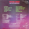 Peter Criss / Out Of Control (LP)