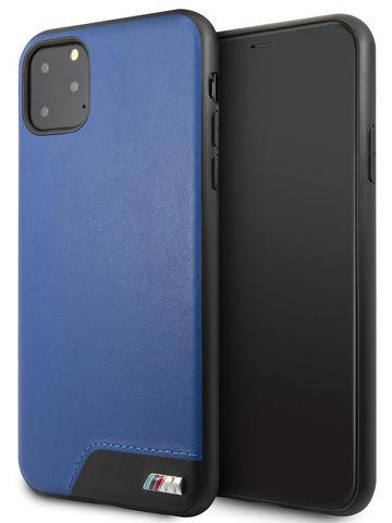 BMW / чехол для телефона iPhone 11 Pro Max | M-Collection Smooth PU Hard Blue