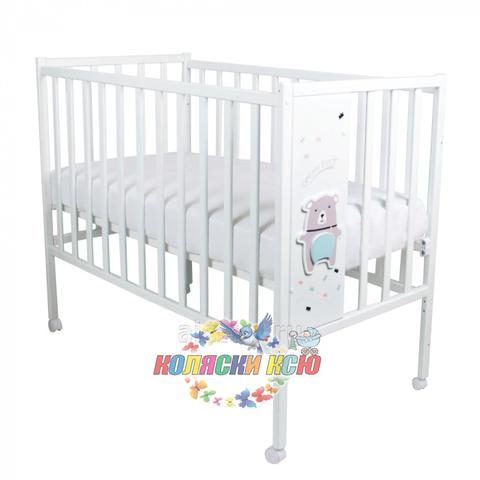 Кровать детская Magico LOFT BEAR (колесо, качалка)