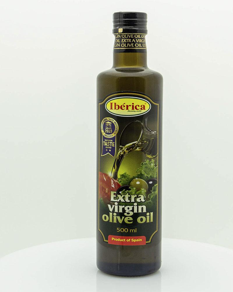 Оливковое масло Iberica Экстра Вирджин 0,5 л.