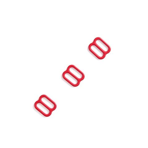 Регулятор для бретели красный 10 мм (цв. 100)