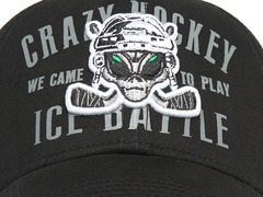 Бейсболка Crazy Hockey
