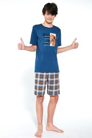 Пижама подростковая с шортами для мальчиков CORNETTE 551 WILD