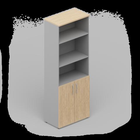 Шкаф комбинированный (2 двери + ниши)