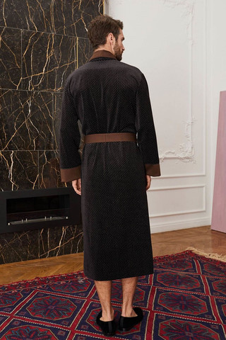 Мужской халат для дома 20365  Laete