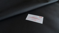 Тентовая ткань Оксфорд 600Д черный рип-стоп
