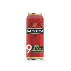 Pivə \ Пиво \ Beer Baltika 9% 0.45 L (dəmir qab)