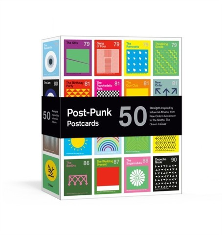 DOROTHY: Post-Punk Postcards: 50 Designs of Influential Albums