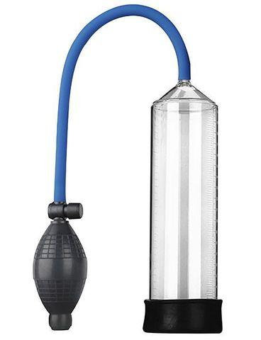 Прозрачная вакуумная помпа Eroticon PUMP X1 с грушей